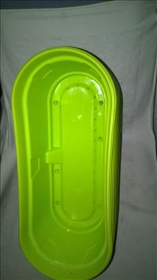 Saksije plasticne 10 kom. dim.33 x 12 x 12,5 cm.