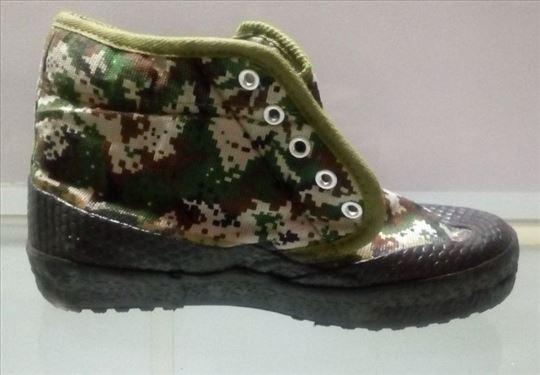 Cipele cipela za zimu zimska sa postavom maskirna