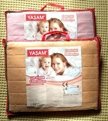 NOVO Električna prostirka Yasam- električno ćebe