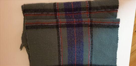 Muški karirani šal, made in Italy
