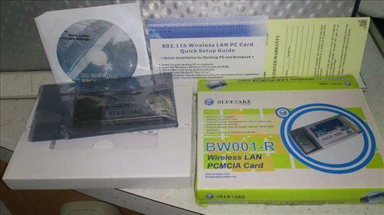 Wireless PCMCIA kartica BlueTake, novo