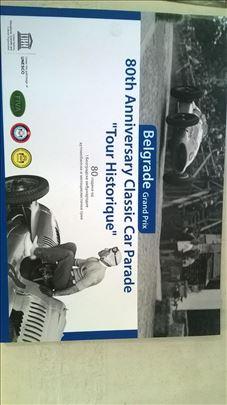 Brošura:80 god.od I Bgd auto i moto trke, 18 str.