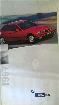Prospekt BMW  za 1997 , 35 str. eng.,malo naboran