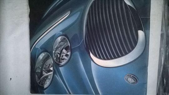 Prospekt Jaguar S type , 47 str. eng veliki format