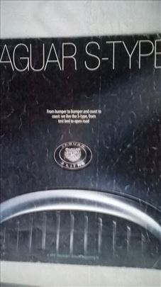 Prospekt Jaguar S type , 50 str. eng