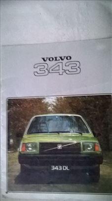 Prospekt Volvo 343 , 02.1978, 24 str. nem.