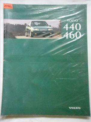 Prospekt Volvo 440 i 460 ,oko 1994, 43 str. hol.