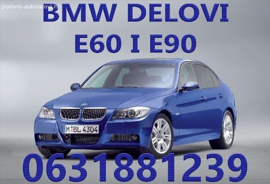Delovi BMW serija 3 i 5