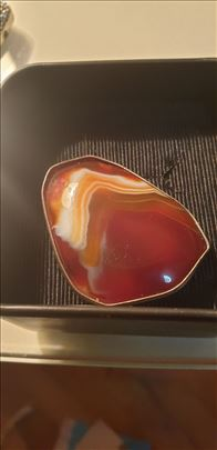 Jaspis u srebru-kamen vitslnosti-made in Italy