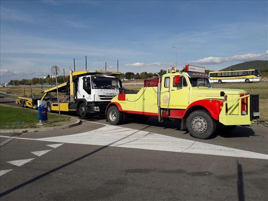 Prevoz auta kamiona i autobusa, pomoć na putu 24h