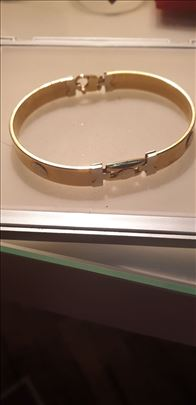 Versace zlatna narukvica-made in Italy