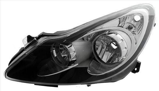 Far Opel Corsa D-Crni