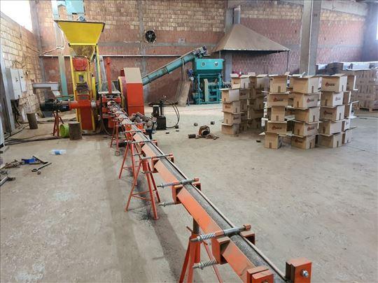 Kompletna linija za proizvodnju briketa