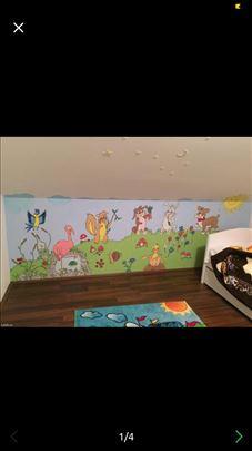 Oslikavanje zidova