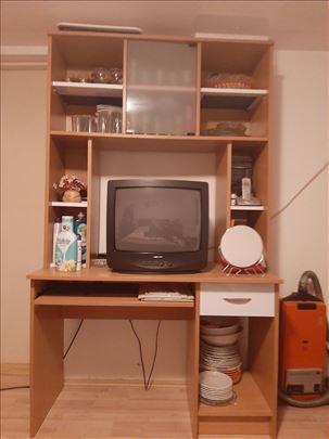 Sto za kompijuter, deo za TV forma ideale