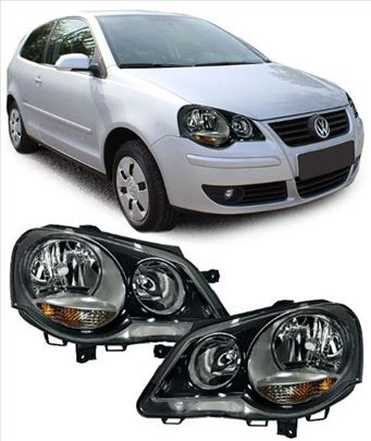 Far VW Polo-Crni GTI