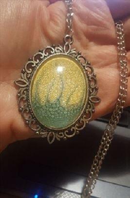 Hande made - Nova Inspiracija - romanticna ogrlica