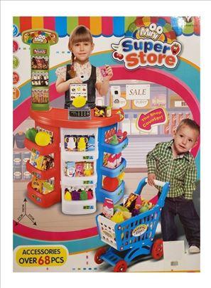 Mini Super Market Set Igracka 68 delova