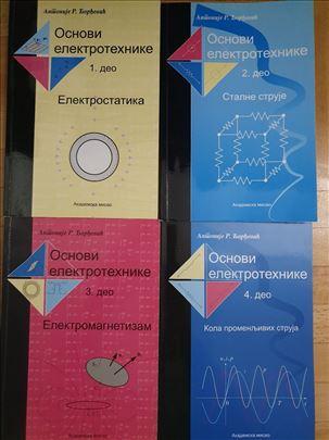 Osnovi elektrotehnike 1,2,3,4 A. Đorđević NOVO
