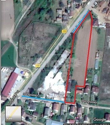 PLAC BAČKA PALANKA - 4600m2 / SVI TIPOVI GRADNJE