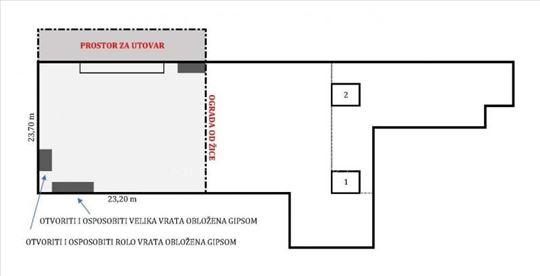 Novi Beograd, skladište, magacin, odlična lokacija