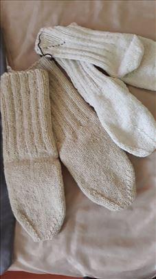 Vunene čarape vrhunskog kvaliteta, rucni rad