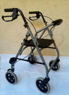 Aluminijumska hodalica 2, šetalica, rolator, lagan