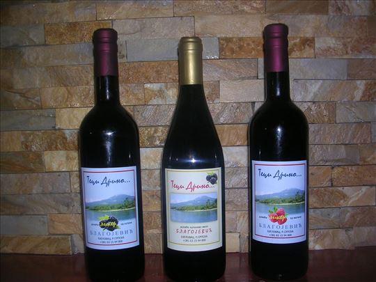 Domace kupinovo vino - Teci Drino...