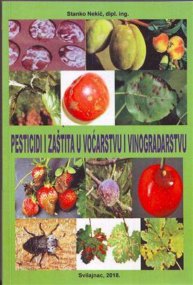 Knjiga, Pesticidi i zaštita u voćarstvu i vinogr..