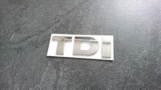 NOVO TDI oznaka za VW Golf Passat Jetta..