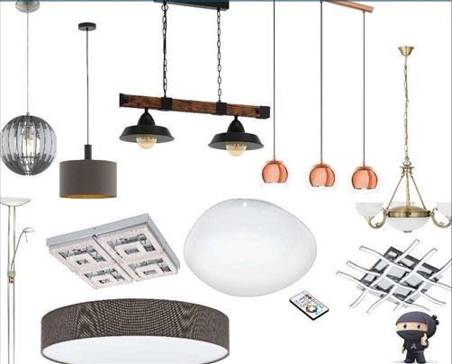 Rasveta lusteri, lampe, sijalice-5god garancija
