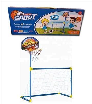 Basket i fudbal igracka 2u1