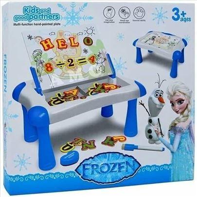 Frozen 2u1 multifunkcionalni sto/tabla