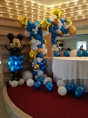 Baloni, dekoracije balonima, vrlo povoljno
