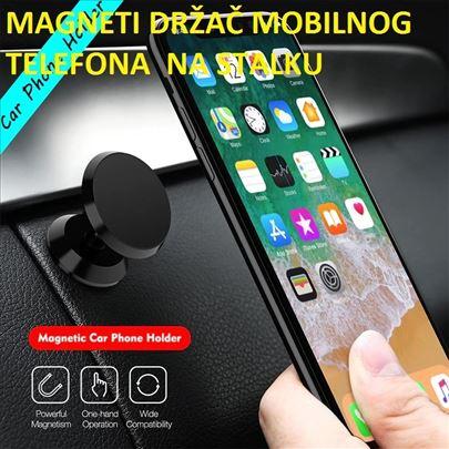 Magnetni auto drzač za mobilni telefon na stalku