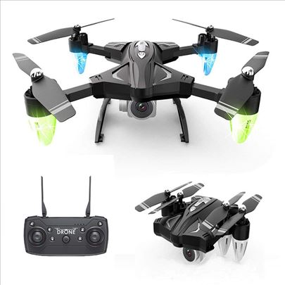 Dron F69 2.4 Ghz 4CH 6-Axis Gyro RC HD Kamera