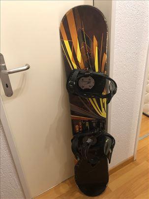 Snowboard br.13 sa vezovima 128cm, uvoz CH