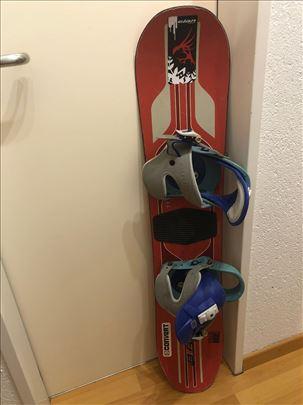 Snowboard br.14 Burton sa vezovima 110cm