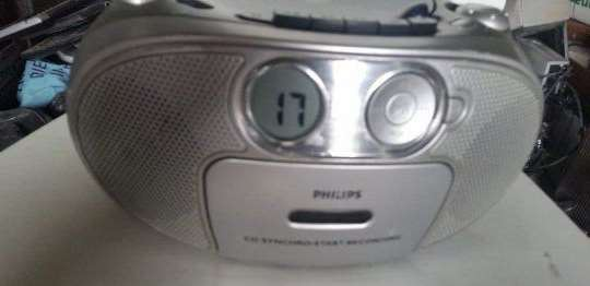 Philips az1022 cd, radio, kaseta