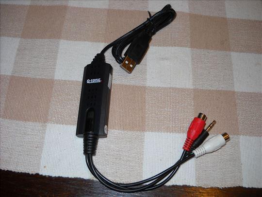 Qsonic Audio Digitalisierer Recorder AD 320 !