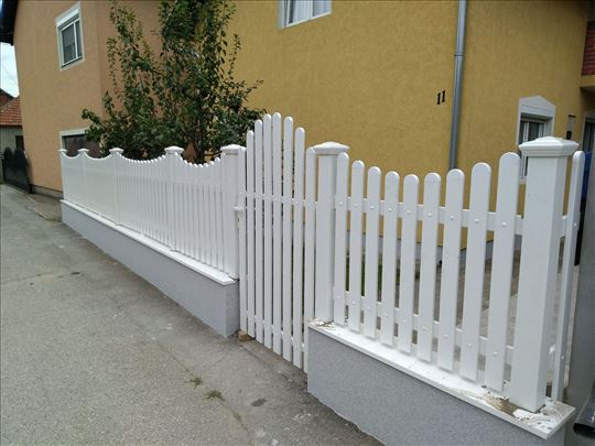 Ograde i baštenske garniture od pvc-a
