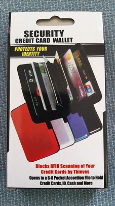 Aluminijumski Novčanik -Security Wallet