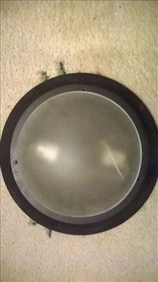 Plafonjera metalena okrugla  dia 39 cm. /staklo di