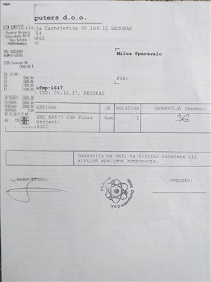 SAPPHIRE RX 570 4GB PULSE-110e - 1 godina garancij