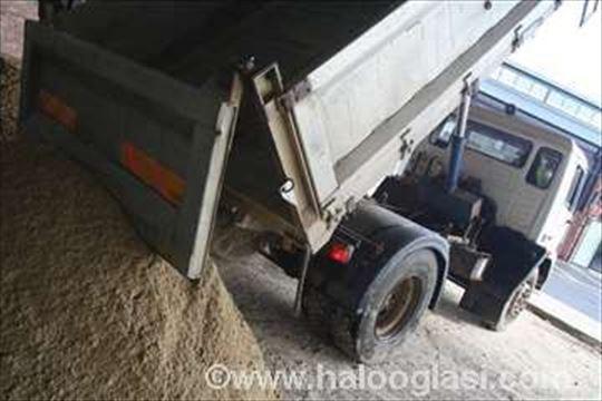 Transport građevinskom materijala