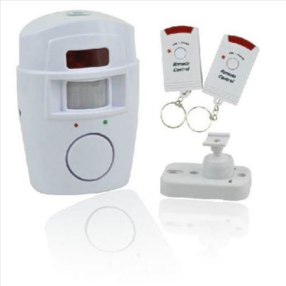 Alarm sa senzorom + dva daljinska upravljača