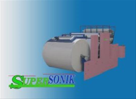 Mašina za izradu rolni toalet papira i ubrusa