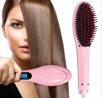 Četka za ravnanje kose pegla za kosu HAIR STRAIGHT