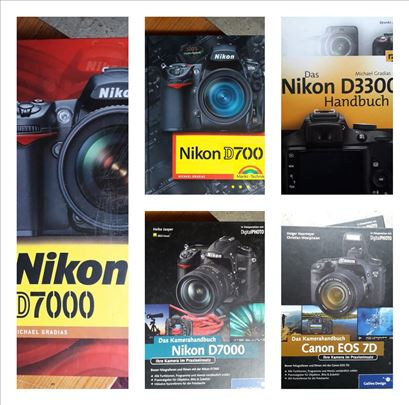Knjiga - prirucnik Nikon D3300, Nikon D700, Nikon