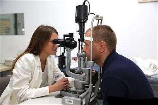 Klinički pregled oftalmologa